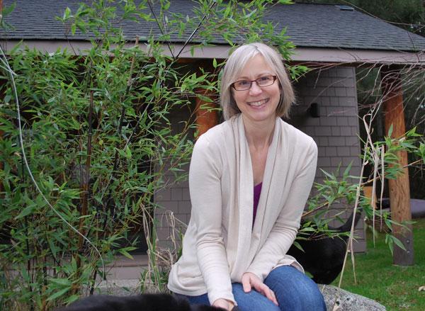 Margaret outside clinic